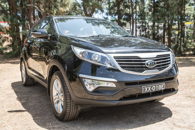 Used Kia Sportage SL SI, 2011 Kia Sportage SL SI Black 5 Speed Manual Wagon