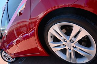 2012 Honda Accord Euro CU MY12 Luxury Milano Red 5 Speed Automatic Sedan