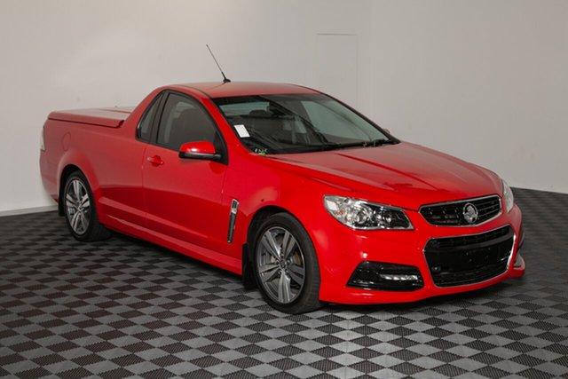 Used Holden Ute VF MY15 SV6 Ute, 2015 Holden Ute VF MY15 SV6 Ute Red Hot 6 speed Automatic Utility