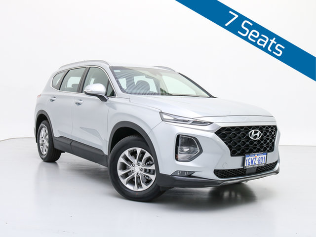 Demo Hyundai Santa Fe TM Active CRDi (AWD), 2019 Hyundai Santa Fe TM Active CRDi (AWD) Typhoon Silver 8 Speed Automatic Wagon