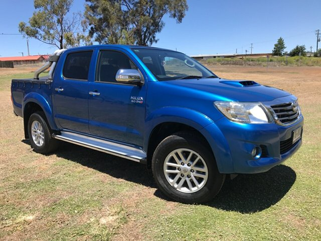 Used Toyota Hilux KUN26R MY14 SR5 (4x4), 2015 Toyota Hilux KUN26R MY14 SR5 (4x4) Tidal Blue 5 Speed Automatic Dual Cab Pick-up