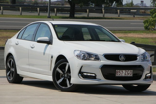 Used Holden Commodore VF II MY17 SV6, 2017 Holden Commodore VF II MY17 SV6 White 6 Speed Sports Automatic Sedan