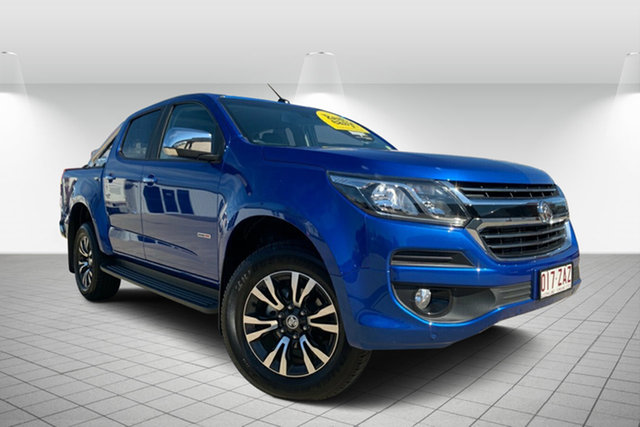 Used Holden Colorado RG MY20 LTZ Pickup Crew Cab, 2019 Holden Colorado RG MY20 LTZ Pickup Crew Cab Blue 6 Speed Sports Automatic Utility