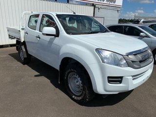 2014 Isuzu D-MAX TF MY12 SX HI-Ride (4x4) White 5 Speed Automatic Crew Cab Utility.