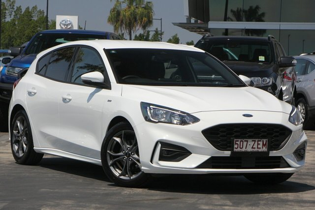 Used Ford Focus SA 2019MY ST-Line, 2018 Ford Focus SA 2019MY ST-Line White 8 Speed Automatic Hatchback