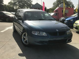 2002 Holden Commodore VX II Executive Blue 4 Speed Automatic Wagon.