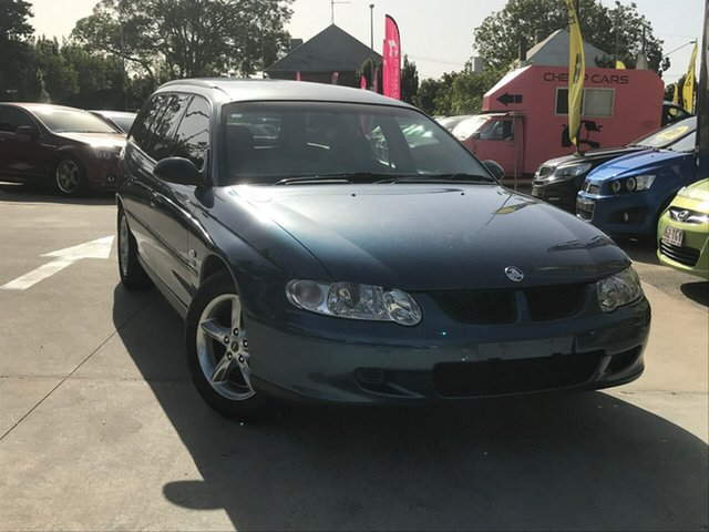 Used Holden Commodore VX II Executive, 2002 Holden Commodore VX II Executive Blue 4 Speed Automatic Wagon