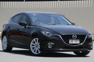 2014 Mazda 3 BM5438 SP25 SKYACTIV-Drive GT Black 6 Speed Sports Automatic Hatchback.