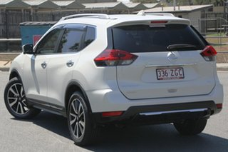 2018 Nissan X-Trail T32 Series II Ti X-tronic 4WD Ivory Pearl 7 Speed Constant Variable Wagon.