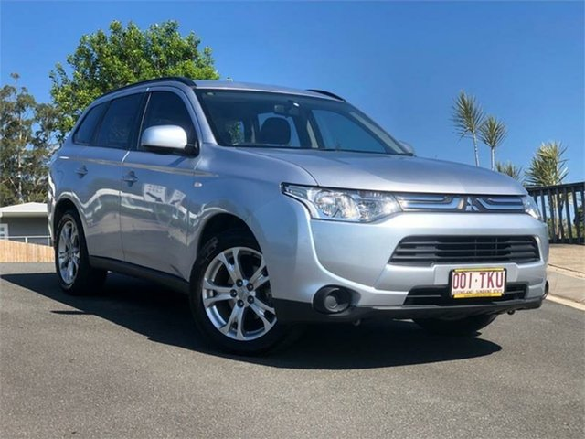 Used Mitsubishi Outlander ZJ MY13 ES 2WD, 2013 Mitsubishi Outlander ZJ MY13 ES 2WD 6 Speed Constant Variable Wagon