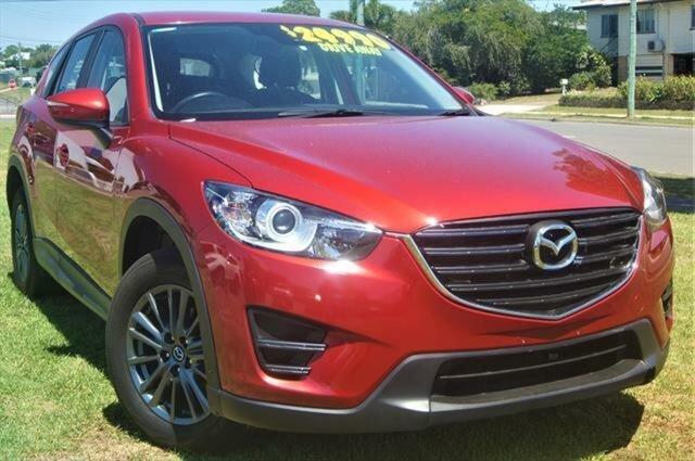 Used Mazda CX-5 KE1072 Maxx SKYACTIV-Drive FWD, 2017 Mazda CX-5 KE1072 Maxx SKYACTIV-Drive FWD Red 6 Speed Sports Automatic Wagon