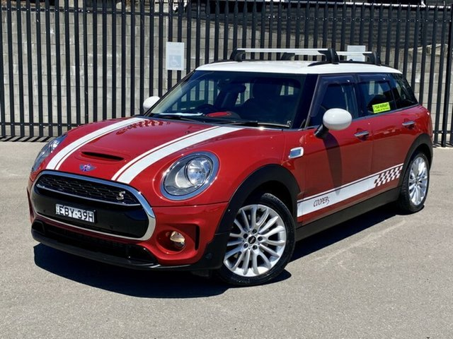 Used Mini Clubman F54 Cooper S Steptronic, 2016 Mini Clubman F54 Cooper S Steptronic Red 8 Speed Sports Automatic Wagon