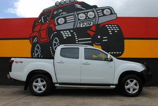 2015 Isuzu D-MAX MY15 LS-Terrain Crew Cab Splash White 5 Speed Sports Automatic Utility.