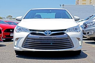 2016 Toyota Camry AVV50R Altise White 1 Speed Constant Variable Sedan Hybrid.