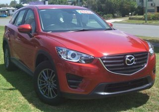 2017 Mazda CX-5 KE1072 Maxx SKYACTIV-Drive FWD Red 6 Speed Sports Automatic Wagon.