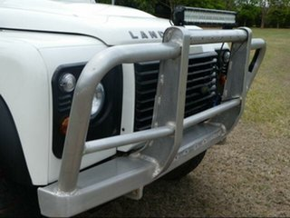 2007 Land Rover Defender 130 (4x4) White 6 Speed Manual Crew Cab Chassis