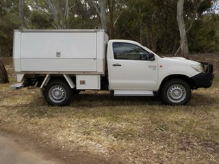 2014 Toyota Hilux KUN26R MY14 SR 5 Speed Manual Cab Chassis