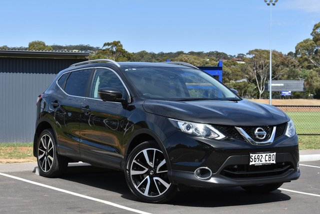 Used Nissan Qashqai J11 TI, 2015 Nissan Qashqai J11 TI Black 1 Speed Constant Variable Wagon
