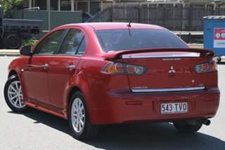 2014 Mitsubishi Lancer CJ MY14.5 LX Red 6 Speed Constant Variable Sedan.