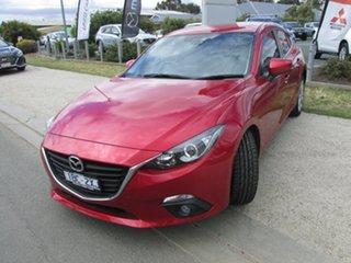 2014 Mazda 3 BM5438 SP25 SKYACTIV-Drive Red 6 Speed Sports Automatic Hatchback.