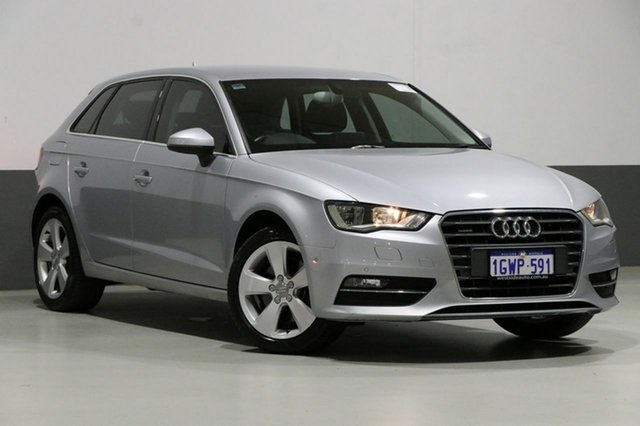 Used Audi A3 8V MY15 S/B 1.8 TFSI Quattro Ambition, 2015 Audi A3 8V MY15 S/B 1.8 TFSI Quattro Ambition Silver 7 Speed Auto Direct Shift Hatchback