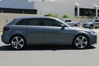 2013 Audi A3 8P MY13 Ambition Sportback S Tronic Grey 6 Speed Sports Automatic Dual Clutch Hatchback.