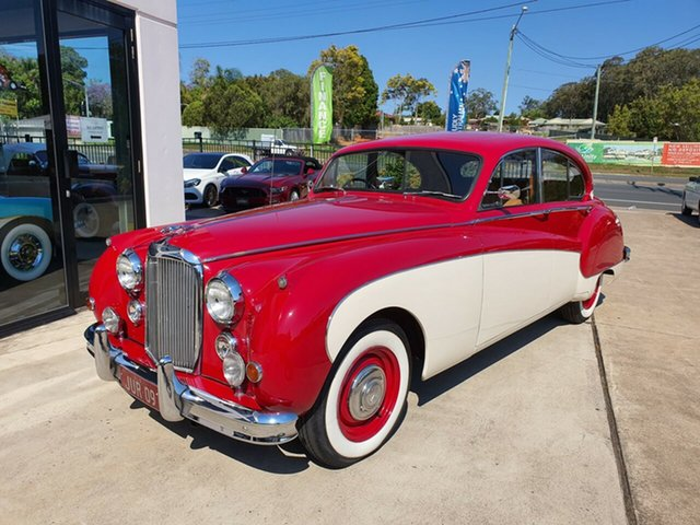 Used Jaguar Mark IX  , 1959 Jaguar Mark IX Red & White Automatic Sedan