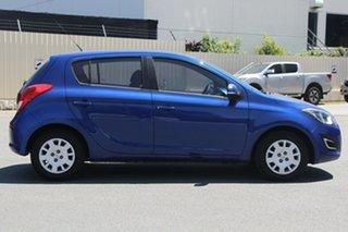 2015 Hyundai i20 PB MY16 Active Blue 6 Speed Manual Hatchback.