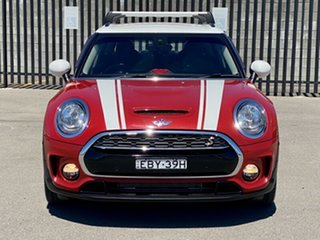 2016 Mini Clubman F54 Cooper S Steptronic Red 8 Speed Sports Automatic Wagon.