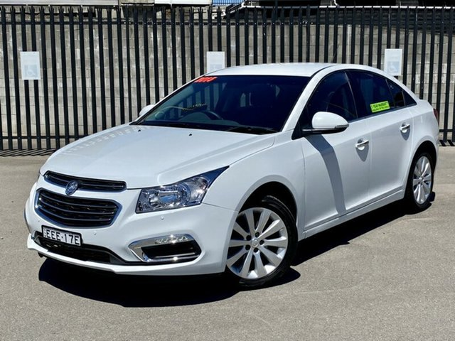 Used Holden Cruze JH Series II MY15 CDX, 2015 Holden Cruze JH Series II MY15 CDX White 6 Speed Sports Automatic Sedan
