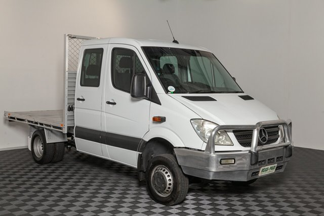 Used Mercedes-Benz Sprinter NCV3 MY12 516CDI LWB, 2012 Mercedes-Benz Sprinter NCV3 MY12 516CDI LWB White 5 speed Automatic Cab Chassis