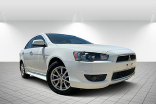 2013 Mitsubishi Lancer CJ MY13 LX White 5 Speed Manual Sedan.