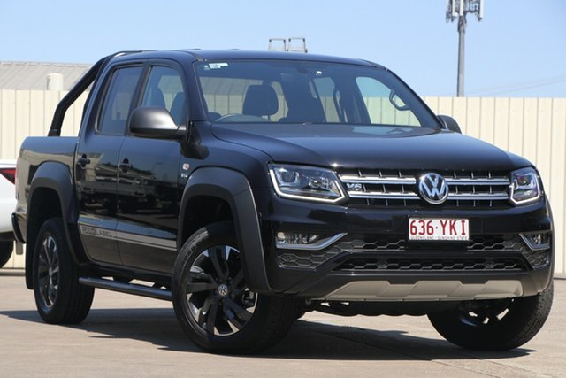 Used Volkswagen Amarok 2H MY18 TDI550 4MOTION Perm Dark Label, 2018 Volkswagen Amarok 2H MY18 TDI550 4MOTION Perm Dark Label Black 8 Speed Automatic Utility