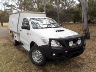 2014 Toyota Hilux KUN26R MY14 SR 5 Speed Manual Cab Chassis.