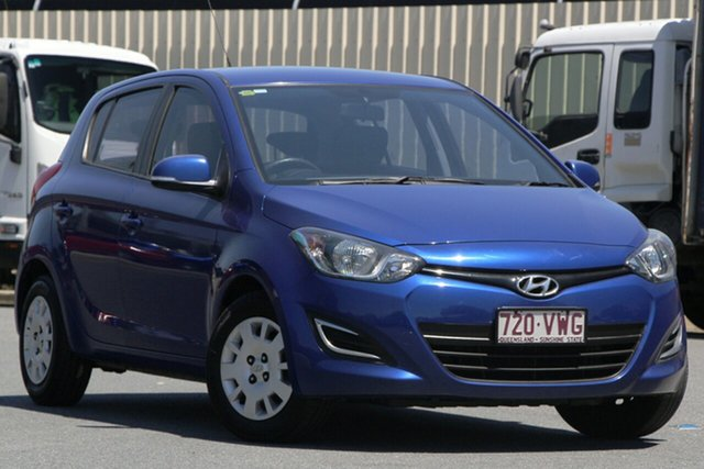 Used Hyundai i20 PB MY16 Active, 2015 Hyundai i20 PB MY16 Active Blue 6 Speed Manual Hatchback