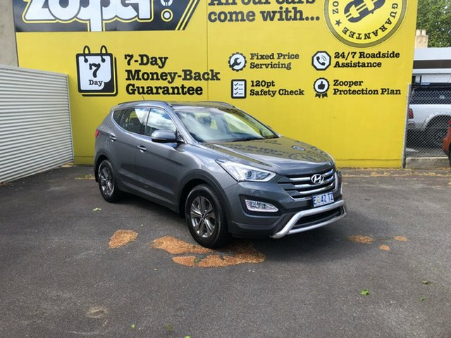 Used Hyundai Santa Fe DM2 MY15 Active, 2015 Hyundai Santa Fe DM2 MY15 Active Dark Grey/cloth 6 Speed Sports Automatic Wagon