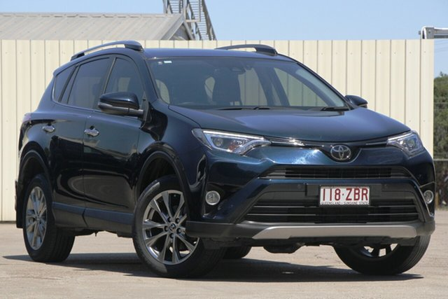 Used Toyota RAV4 ASA44R Cruiser AWD, 2017 Toyota RAV4 ASA44R Cruiser AWD Green 6 Speed Sports Automatic Wagon