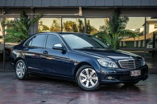 2008 Mercedes-Benz C-Class W204 C220 CDI Classic Blue 5 Speed Automatic Sedan.