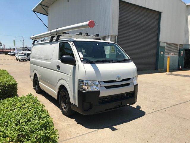 Used Toyota HiAce KDH201R LWB, 2016 Toyota HiAce KDH201R LWB French Vanilla 4 Speed Automatic Van