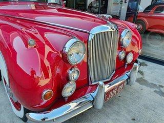 1959 Jaguar Mark IX Red & White Automatic Sedan