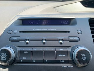2006 Honda Civic 8th Gen Sport Silver 5 Speed Automatic Sedan