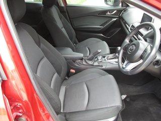 2014 Mazda 3 BM5438 SP25 SKYACTIV-Drive Red 6 Speed Sports Automatic Hatchback