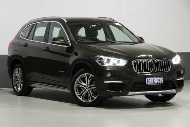 Used BMW X1 F48 MY17 sDrive 18D, 2017 BMW X1 F48 MY17 sDrive 18D Bronze 8 Speed Automatic Wagon
