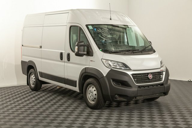 Demo Fiat Ducato Series 6 Mid Roof MWB Comfort-matic, 2019 Fiat Ducato Series 6 Mid Roof MWB Comfort-matic White 6 speed Automatic Van