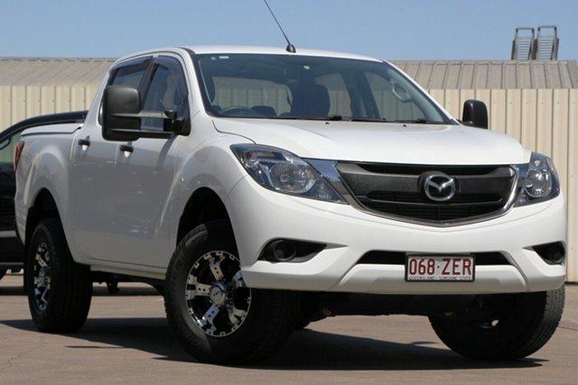 Used Mazda BT-50 UR0YG1 XTR 4x2 Hi-Rider, 2016 Mazda BT-50 UR0YG1 XTR 4x2 Hi-Rider White 6 Speed Sports Automatic Utility