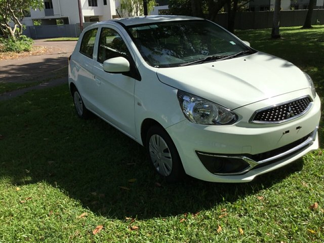 Used Mitsubishi Mirage LA MY17 ES, 2017 Mitsubishi Mirage LA MY17 ES White Continuous Variable Hatchback