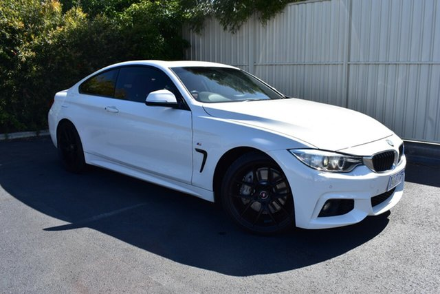 Used BMW 4 Series F36 435i Gran Coupe, 2014 BMW 4 Series F36 435i Gran Coupe White 8 Speed Sports Automatic Hatchback