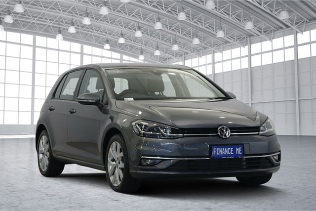 Used Volkswagen Golf 7.5 MY18 110TDI DSG Highline, 2018 Volkswagen Golf 7.5 MY18 110TDI DSG Highline Indium Grey 7 Speed Sports Automatic Dual Clutch