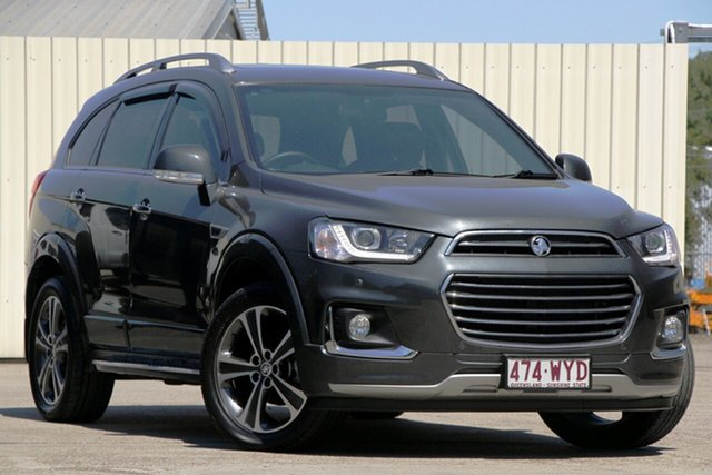 Used Holden Captiva CG MY16 LTZ AWD, 2016 Holden Captiva CG MY16 LTZ AWD Grey 6 Speed Sports Automatic Wagon