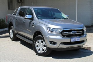 2019 Ford Ranger PX MKIII 2019.0 XLT Pick-up Double Cab Aluminium 6 Speed Sports Automatic Utility.